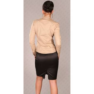 Business Bluse 8484 beige