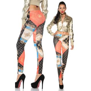Leggings mit Tatoo-Print 15