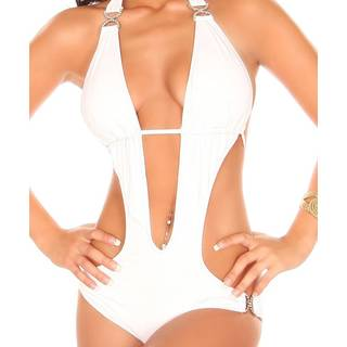 Push- Up Monokini 266 white