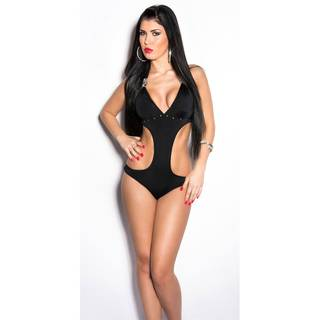 Push-Up Monokini 86 schwarz