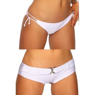 Push-Up Bikini-Set White 3434