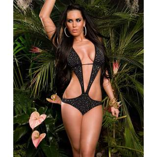 Fashion-Monokini 202 schwarz